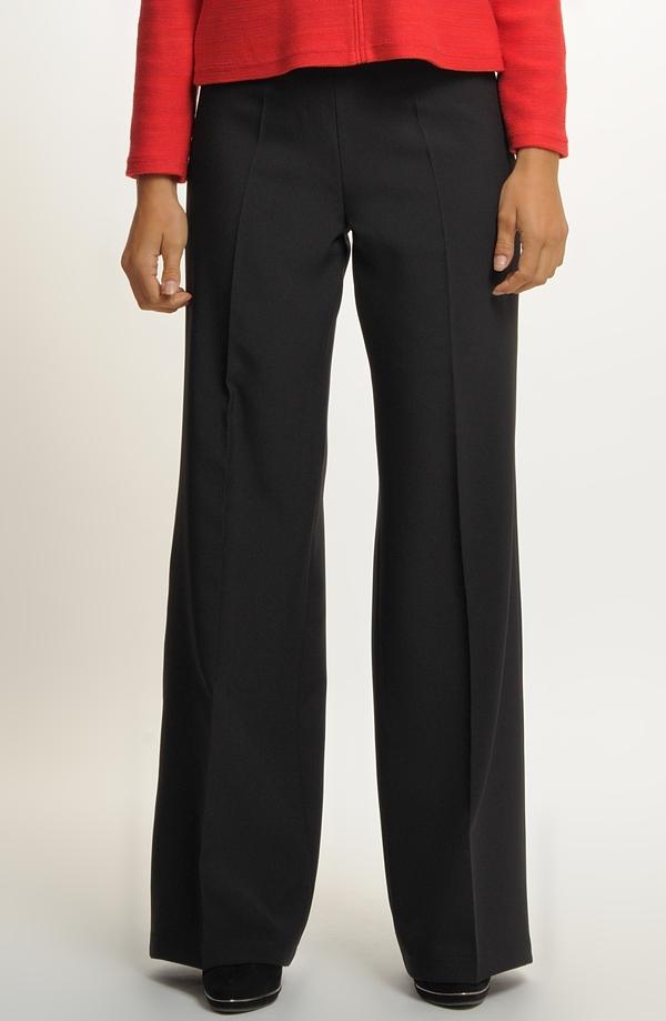 09fb6d07160 Společenské kalhoty široké s puky ...